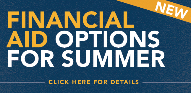 Financial Aid for Summer
