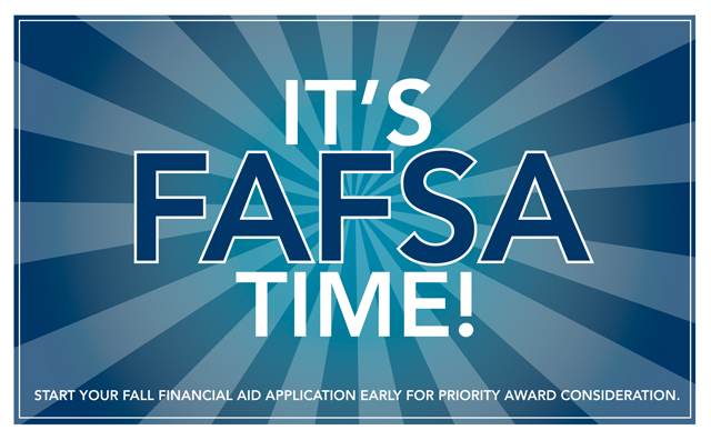 logo: It's FAFSA Time!