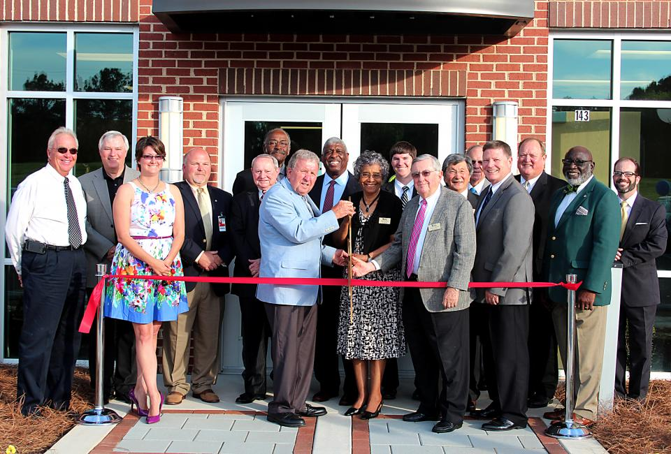 Abbeville Campus Ribbon Cutting