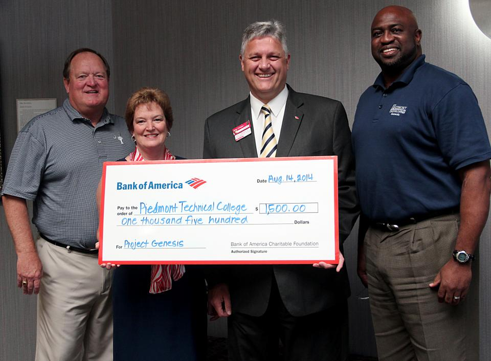 Bank of America Donation