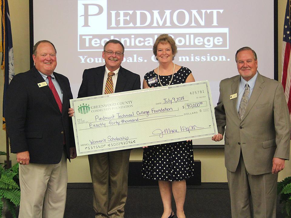 Greenwood County Community Foundation Donation