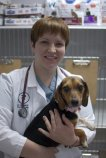 Nurse with dog