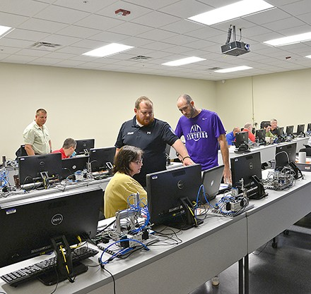 Mechatronics Training at Newberry