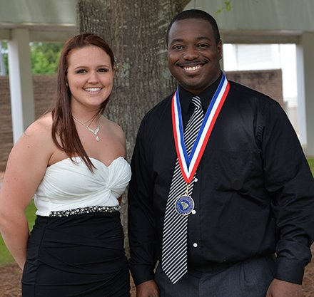 Malaurie Hullings and Kenneth Washington