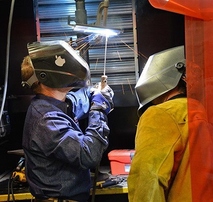 Welding Program at the CAM