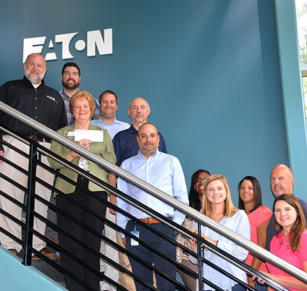 Eaton Corporation Donates $45,000 to PTC Foundation