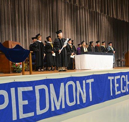 Piedmont Tech Fall 2019 Graduation