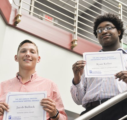 Two PTC Students Winners in Annual Writing Contest