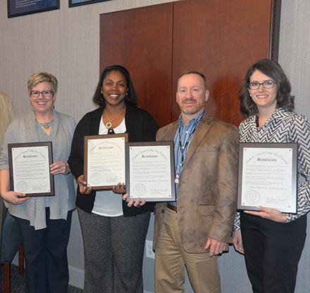 PTC Team Honored for Work Ethic Skills Curriculum