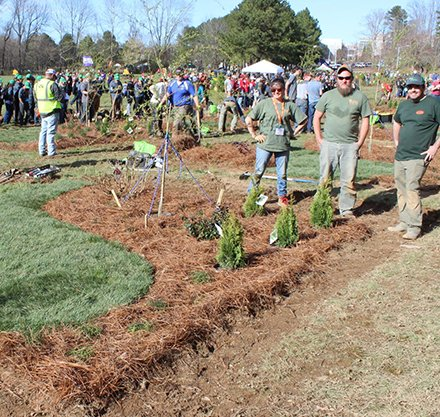 Horticulture Students Compete in National Landscape Competition