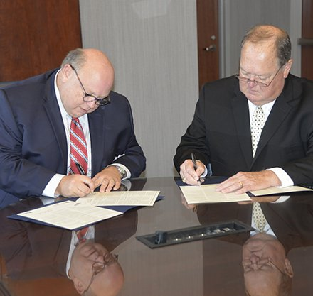 PTC and Anderson University Sign Articulation Agreement