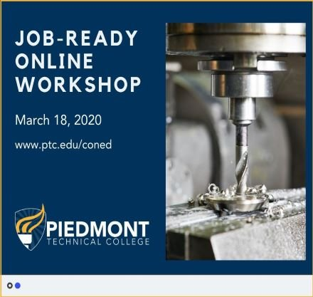 Piedmont Technical College Continuing Education